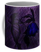 The Wilted Blue Rose Coffee Mug