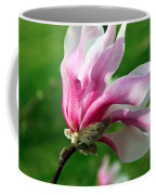 The Windblown Pink Magnolia 1 - Flora - Tree - Spring - Garden Coffee Mug