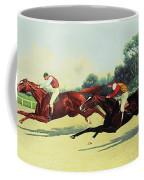 The Winning Post In Sight Coffee Mug by Henry Stull