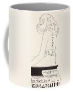 The Wise Baviaan The Dog-headed Baboon Coffee Mug by Joseph Rudyard Kipling