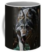 The Wolf Digital Art Coffee Mug