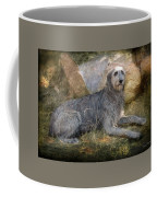 The Wolfhound  Coffee Mug by Fran J Scott