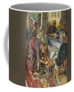 The Woman With The Box Of Ointment Coffee Mug by Harold Copping