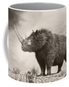 The Woolly Rhinoceros Is An Extinct Coffee Mug