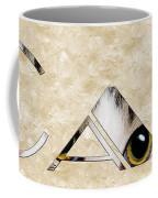 The Word Is Cat Coffee Mug