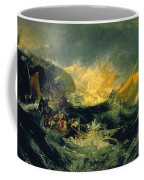 The Wreck Of A Transport Ship Coffee Mug
