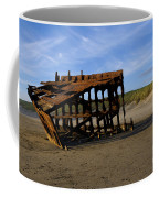 The Wreck Of The Peter Iredale - Oregon Coffee Mug