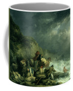 The Wreckers Coffee Mug by George Morland