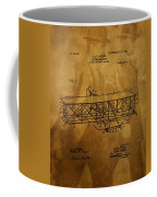 The Wright Brothers Airplane Patent Coffee Mug