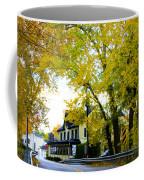 The Yardley Inn In Autumn Coffee Mug
