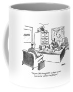 The Years 1966 Through 1995 Are Blank Because Coffee Mug by Jack Ziegler