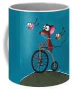 The Yellow Bike Coffee Mug