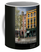 The Yellow House At The Liffey River - Dublin - Ireland Coffee Mug