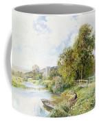 The Young Angler Coffee Mug