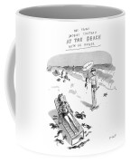 The Young Jacques Cousteau At The Beach Coffee Mug