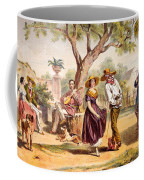 The Zapateado - National Dance, 1840 Coffee Mug