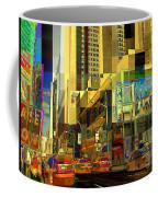 Theatre District - Neighborhoods Of New York City Coffee Mug