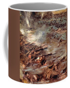 Their Men Advanced In Dense Masses Coffee Mug