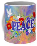 Themes Of The Heart-peace Coffee Mug
