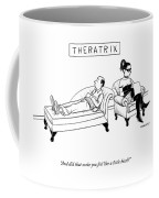Theratrix -- A Domnatrix Sits In The Therapist's Coffee Mug