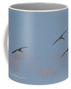 There 's Our Spot Said The Sand Hill Crane Coffee Mug