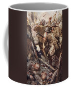 They Bombed And Bayoneted Their Way Coffee Mug by Cyrus Cuneo
