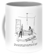 They Say If You Breathe In When You're Supposed Coffee Mug