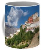 Thiksay Monastery Ladakh Jammu And Kashmir India Coffee Mug