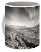 Thingvellir Iceland Black And White Coffee Mug