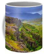 Thingvellir National Park Rift Valley Coffee Mug