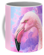 Think Pink Flamingo Coffee Mug