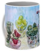 Thinking Of Cezanne Green Coffee Mug