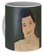 Thinking Of What To Do Next Coffee Mug by Pamela  Meredith