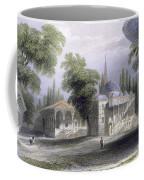 Third Court Of The Serai Bournou, C.1850 Coffee Mug by William Henry Bartlett