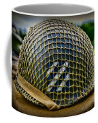 Third Infantry Division Helmet Coffee Mug
