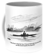 'thirty Days In A Single Scull.' Day 17: Coffee Mug