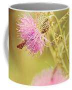 Thistle And Friend Coffee Mug