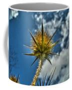 Thistle And Sky Coffee Mug