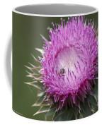 Thistle And The Bee Coffee Mug