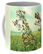Thistle On The Beach  Coffee Mug