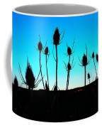 Thistles At Sunset Coffee Mug