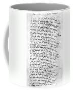 Thomas Gray: Elegy, 1750 Coffee Mug