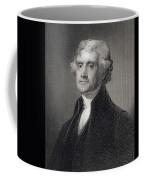 Thomas Jefferson Coffee Mug by Gilbert Stuart