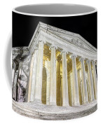 Thomas Jefferson Memorial At Night  Coffee Mug