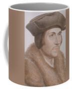 Thomas More Coffee Mug by Hans Holbein the Younger