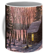 Thoreau's Cabin Coffee Mug by Jack Skinner