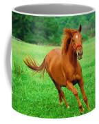 Thoroughbred Filly Coffee Mug