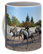 Thoroughbred Park Coffee Mug by Roger Potts