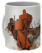 Thrashing The Snow Coffee Mug by Jeff Swan