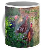 Three Amigos Happy Birthday Husband Coffee Mug